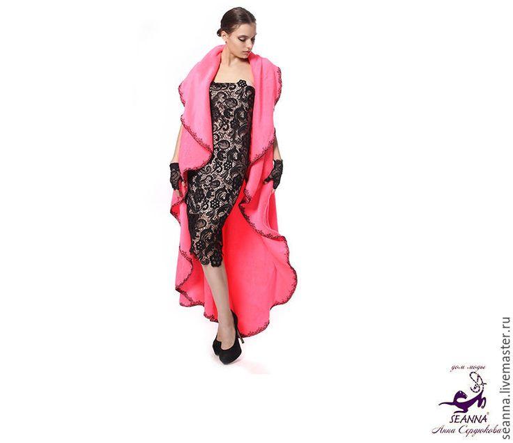 """Купить Роскошный халат мягчайший безразмерный """"Королевская Мягкость"""" - халат ярко розовый, халат безразмерный"""