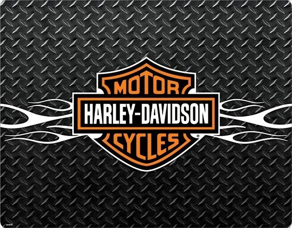 Harley Davidson Skull Logo Wallpaper
