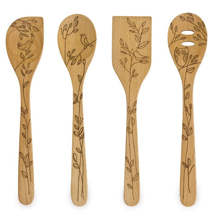 I think that this would be easy to do with a wood  burning tool. Very cool!