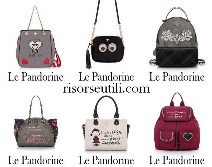 Handbags Le Pandorine fall winter 2017 2018 bags