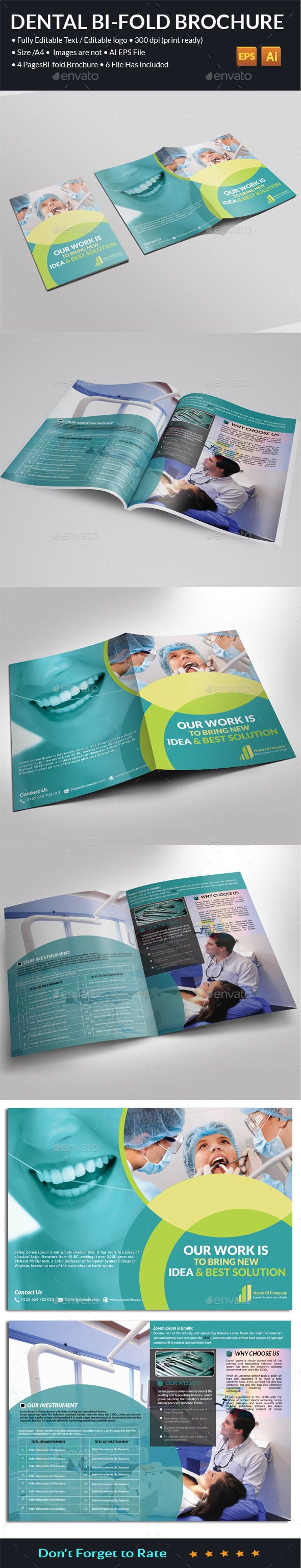 Dental Bi-Fold Brochure