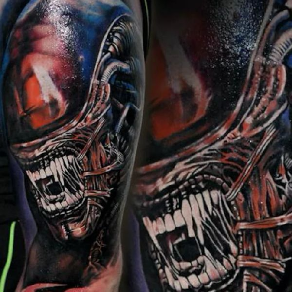 17 Best Images About Xenomorph Tattoos On Pinterest