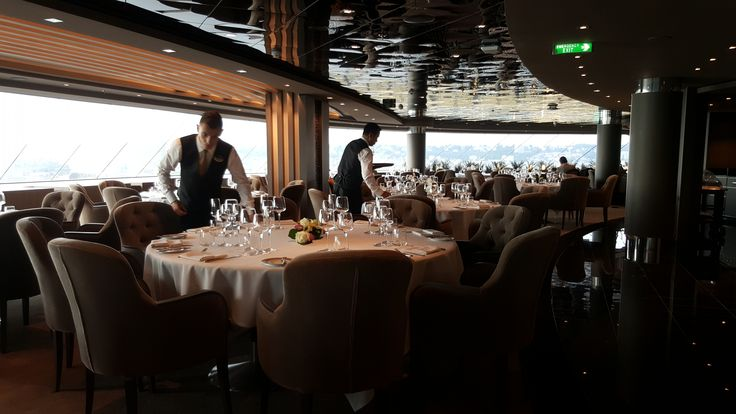 Private Restaurant In The Msc Meraviglia Only For The Use Of Msc Yacht Club Members Alaska Glaciers Luxury Cruise Cruise