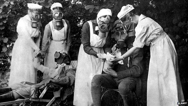 Las batallas que enfrentaron las enfermeras de la Primera Guerra Mundial | BBC Mundo