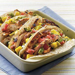 Chicken+Tacos+with+Mango-Avocado+Salsa+ +MyRecipes.com