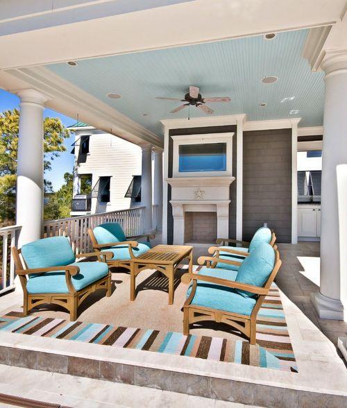Best Ceiling Paint Color: 15 Best Blue Ceilings Images On Pinterest
