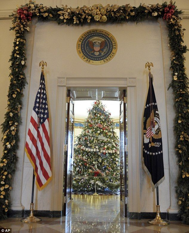 Best 20+ White House Christmas Tree Ideas On Pinterest—no