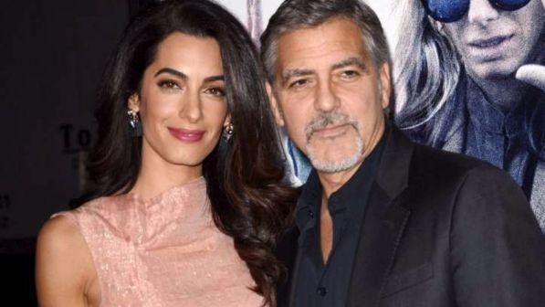 George e Amal Clooney, sono nati i gemelli Ella e Alexander