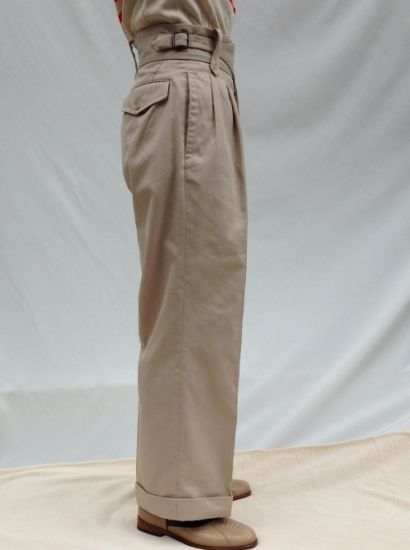 Haversack Ghurka Trousers S S15 Vintage Workwear Parka