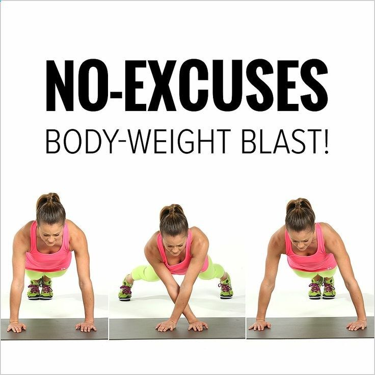 This No-Equipment Workout Will Tone Every Inch of Your Body: Who needs a gym? .