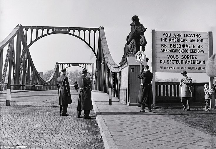 True story: This is a view of 'Unity' or Glienicke Bridge from the American side, where U2 pilot Francis Gary Powers was exchanged for convicted Russian spy Rudolf Abel
