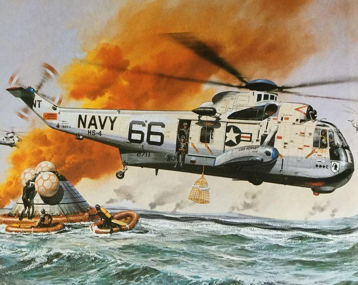 Roy Cross - Sea King SH-3D