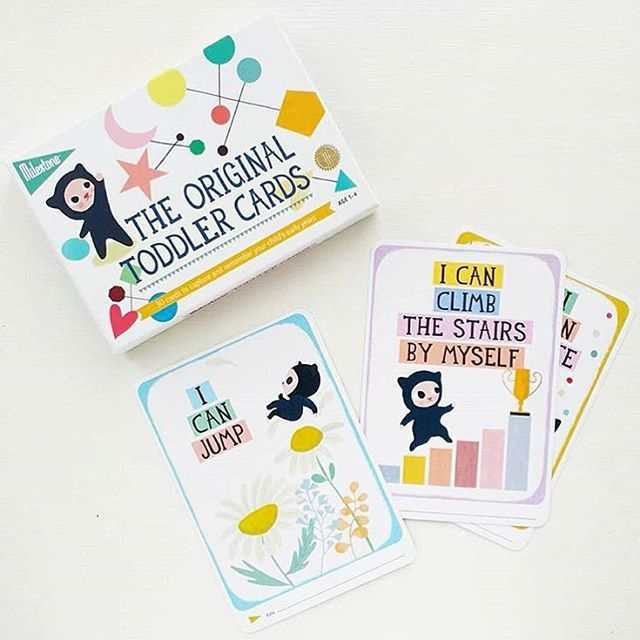 We've got a new fan ;-)! Our friend @thebabyguynyc included our Toddler Cards in his new toddler @babyguybox and he also has a little surprise for you...  Check the link in our bio to find out more! #giveaway #toddlercards #milestonecards #thebabyguynyc  by @littlemaldod