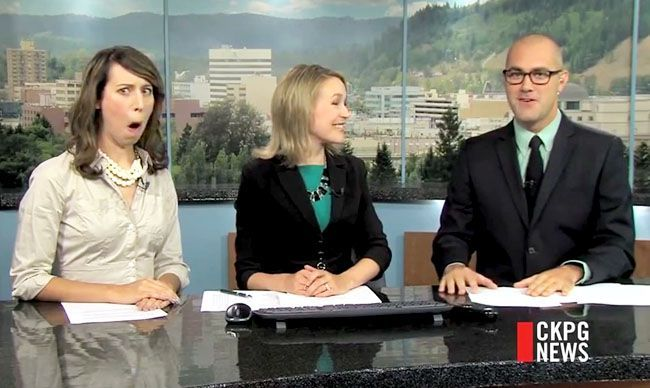 These are the best Ive found so far, check out the best of 2015 a great year for wacky news bloopers, and now we can relive them all in one 15-minute clip.