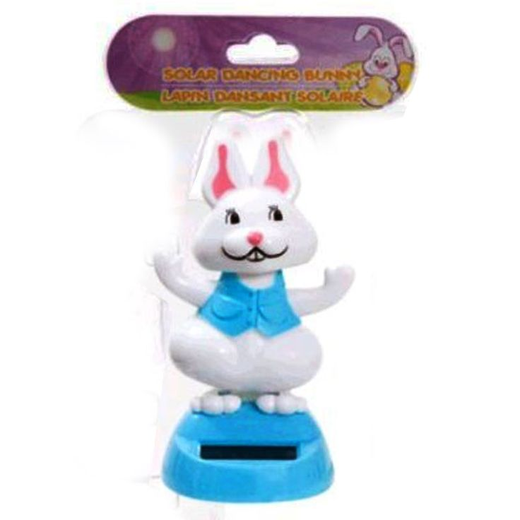 28 best easter party supplies images on pinterest easter party solar powered easter bunny never ending dancing for cars and decoration blue negle Image collections