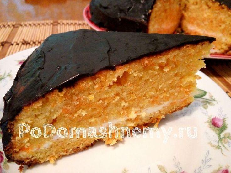 Морковный пирог - очень вкусный и нежный