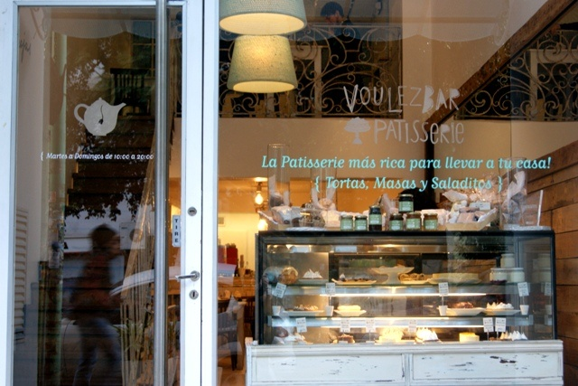 www.voulezbar.com.ar/ Cerviño 3802, Palermo Botanico. Cute patisserie with a great pain au chocolat.