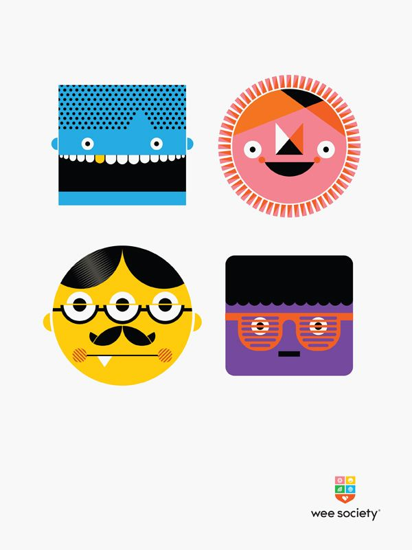 Wee Society by Office, via Behance