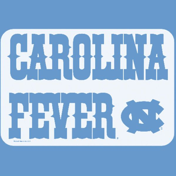 UNC Tar Heels (make it with paint and sheet metal or wood )