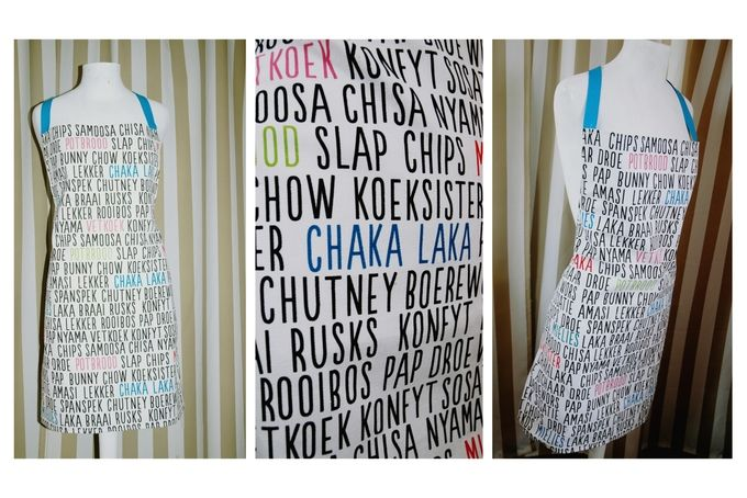 Proudly South African Full Apron by Quirky Little Things