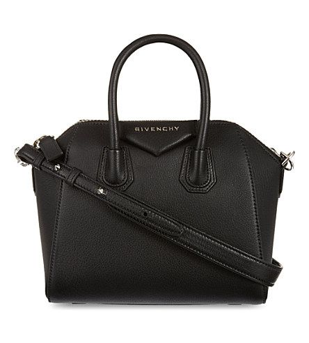 GIVENCHY Antigona mini soft-grained leather tote