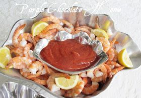 Purple Chocolat Home: Colossal Shrimp and Cocktail Sauce