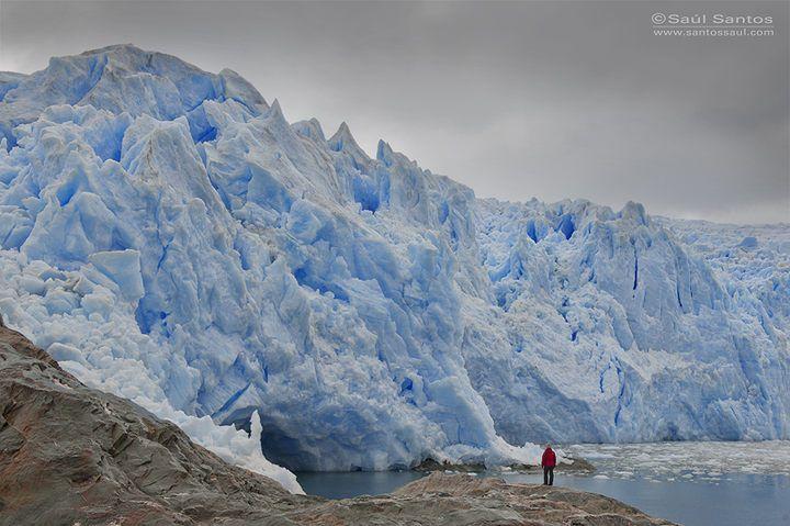 Saul Santos Diaz - photographer   Glaciar Brujo, chile