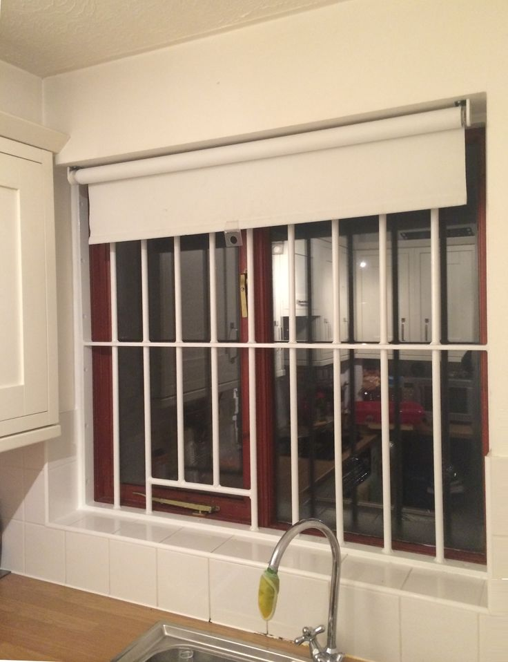 rsg2000 window security bars fitted to a home in harrow