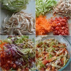 Aprende a preparar un delicioso y fácil salpicón de pollo con esta receta paso a paso. Fresco y rápido para preparar en época de calor o días que no quieras cocinar.