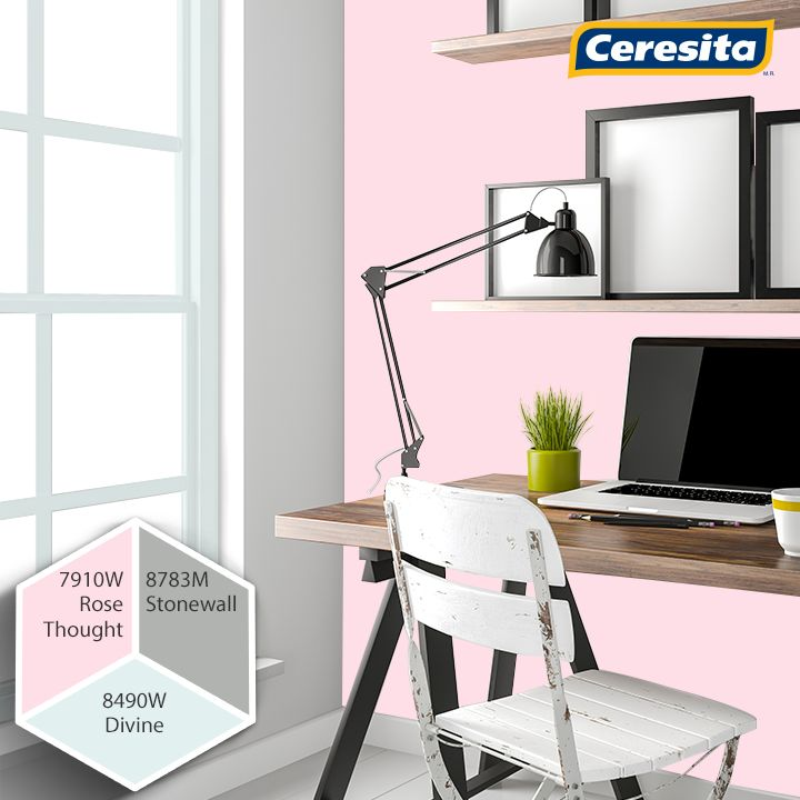 #CeresitaCL #PinturasCeresita #Color #HomeOffice #Home #Office #Pintura #Tendencia #Estilo #Decoración #Arquitectura #Diseño #Casa #Hogar *Códigos de color sólo para uso referencial. Los colores podrían lucir diferentes, según calibrado de su monitor.