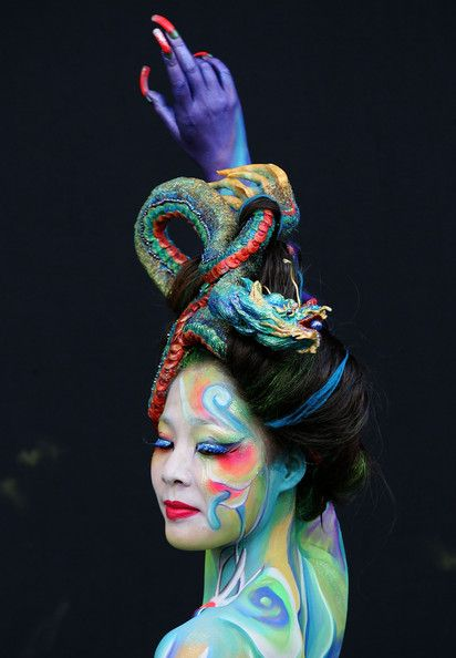 airbrush body art | Body Paint: This Fall's Hottest Fashion Trend - Body Painting - Zimbio
