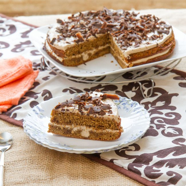 Double Layered instant coffee cake | Cakes | Pinterest