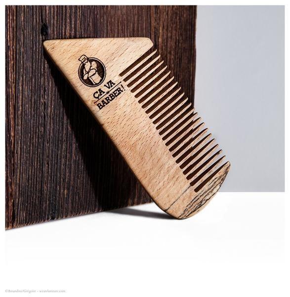 Peigne pour barbe (bois de hêtre)