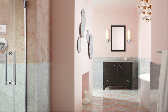 Este baño inspira romanticismo.