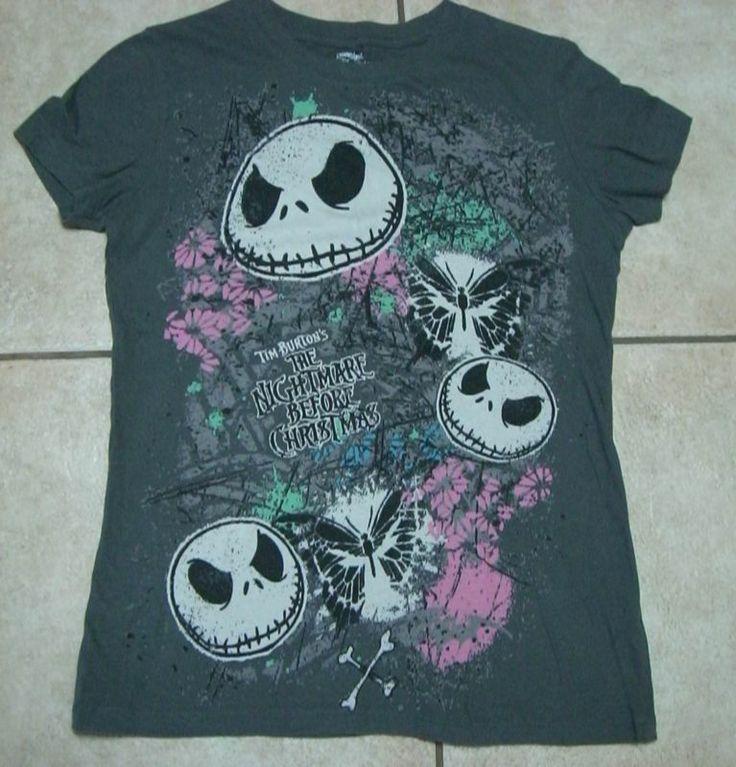 Disneyland Nightmare Before Christmas Shirt Juniors size L