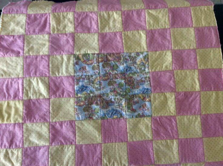 Rag Quilt Back: Nursery Rhymes - Jemima