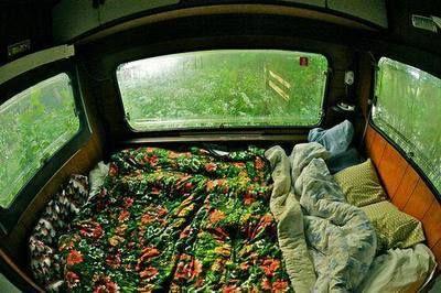 Toa la cama un ventanal <3_<3