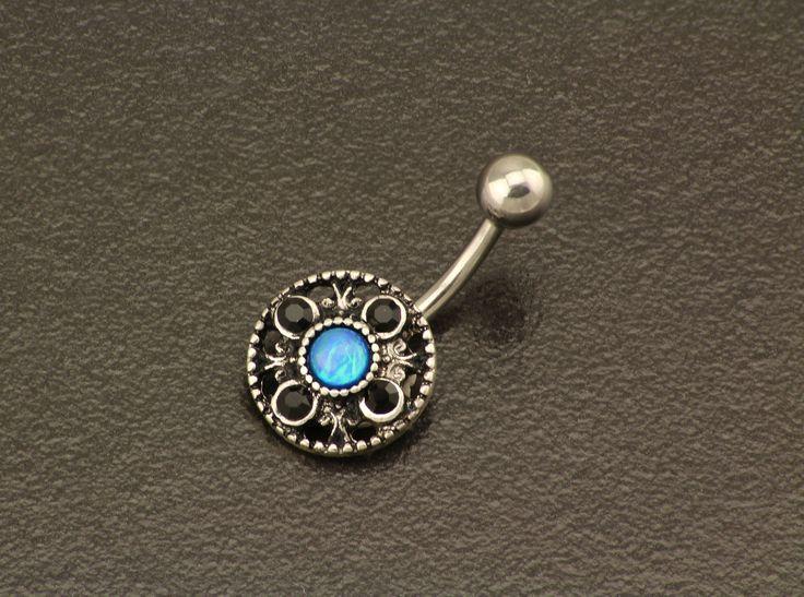 Summer Belly Button Piercing. Opal Belly Ring. Silver Navel Jewelry. Elegant Stone Jewellery. Dainty Beach Belly Ring. Bohemian Piercing. by StarstruckPiercings on Etsy https://www.etsy.com/au/listing/478778388/summer-belly-button-piercing-opal-belly
