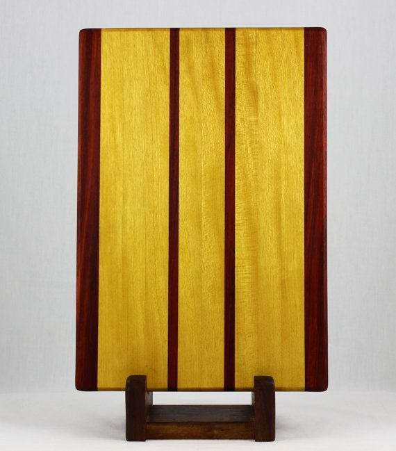 u0026 padauk butcher block cutting board 75