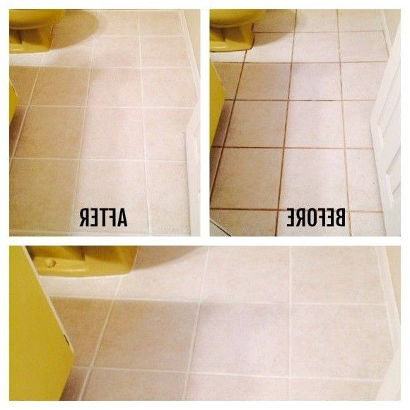 Awesome Best Of How To Clean Bathroom Floor Tiles