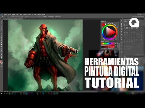 Tutorial de Herramientas A utilizar en Digital Painting (Pintura Digital) - http://graphixdragon.com/tutorial-de-herramientas-utilizar-en-digital-painting-pintura-digital/
