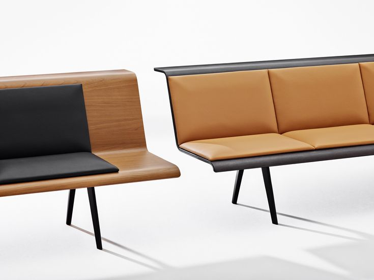 ZINTA WAITING - Waiting area benches from Arper | Architonic