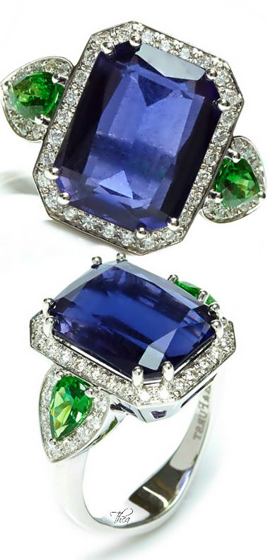 A & Furst Jennie Iolite Ring