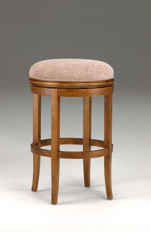 Oak Wood Stools ~ Oak view backless swivel bar stool would need in