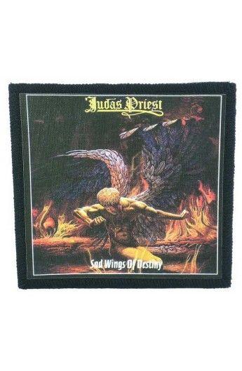 Judas Priest - Sad Wings of Destiny  (toppa piccola)   - misure: (larghezza 9,8 cent. - altezza 9,8 cent.)