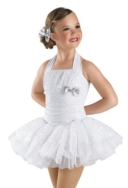 Girls' Cute Sequin Halter Dress; Weissman Costumes
