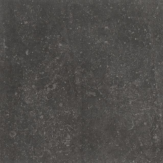 Bricmate Limestone Anthracite 30x30, med härlig kalkstenskänsla. Varierar i nyans och mönster.
