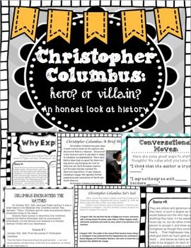 christopher columbus hero or villain Christopher columbus is often regarded as the brave italian sea captain who discovered america in his day and age, there were superstitions of boiling seas and.