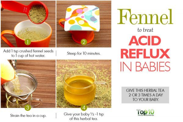 how to help baby with acid reflux