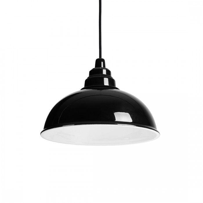 Lampada Botega Nero/Bianco